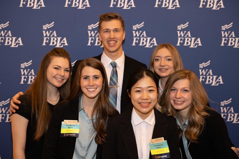 Washington FBLA Members